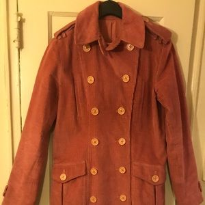 Marc Jacobs Double-Breasted Corduroy Coat